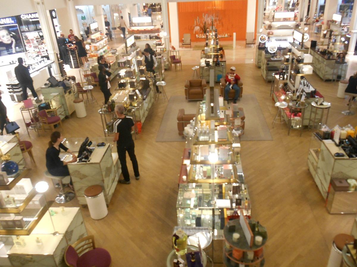 Paris shopping Au Bon Marché