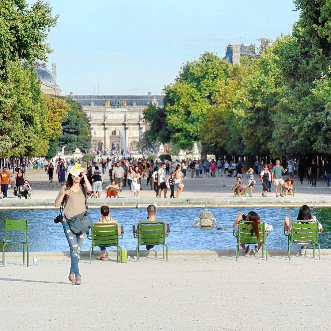 paryż wycieczka  Ogrody Tuileries