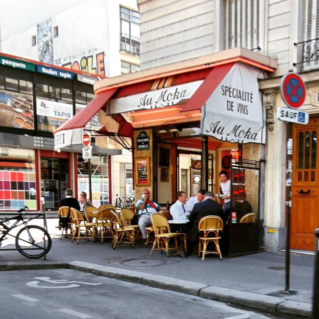 Restauracje w Paryżu.