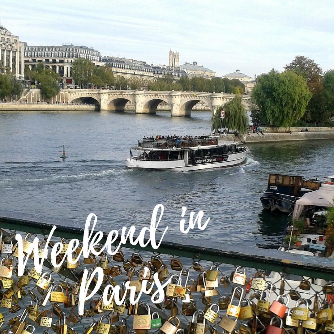 Weekend w Paryżu.