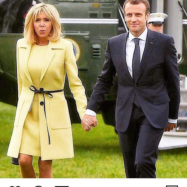 sekret szczuplej sylwetki Brigitte Macron